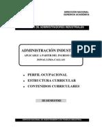 CURRICULA DE OPERACIONES INDUSTRIALES