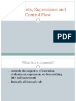 03 Expressions Statements Control Flow
