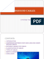 Under Ground Cables Ppt