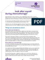 How to Look After Myself During Chemotherapy