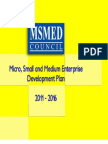 MSMED Plan