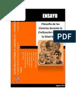 Filosofía de las Ciencias durante la Civilización Griega y la Edad Media