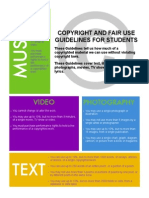 copyright guidelines for class