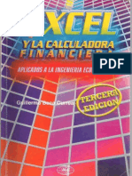 Excel y La Calculadora Financiera