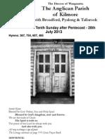 Pew Sheet 28 July 2013 P9C