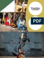 2013 Fender AmericanVintage Brochure