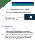 AME Licence Procedure Manual CAA Australia