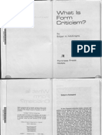 What is Form Criticism, Edgar McKnight