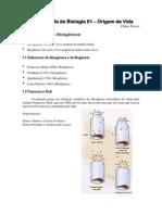 Apostila de Biologia 01 e28093 Origem Da Vida by Fabio Neves