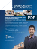 bond university information session colombo - 15 8 2013