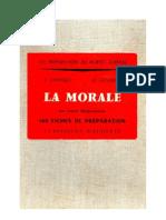 La Morale Cours Elémentaire 160 Fiches de préparation Levesque-Leclercq 1961
