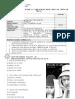 Control de Lectura Domiciliaria de Carta en Carta 2013