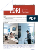 TDRI Quarterly Review December 2012
