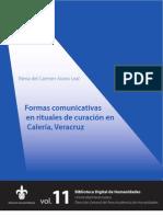 Formas Comunicativas Rituales Curacion Veracruz Tuxtlas