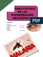 Historia Natural de La Malaria,Dengue