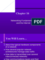 Networking Fundamentals and the Internet
