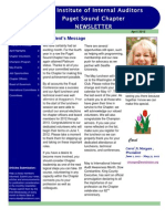 2012 April Newsletter IIA Puget Sound Chapter