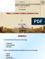 SmallHydro Power Generation-IIT Mandi May16