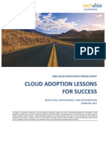 Cloud Adoption Lessons for Success Report
