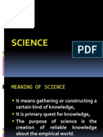 science & common sense