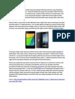 Nexus 7 Adalah Alasan Apple iPad Mini Hadir Akhir Tahun Ini