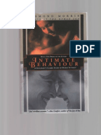tribal family and personal in the essay territorial behavior by desmond morris Territorial behaviour by desmond morris is an essay in which he breaks down human territory into three categories: tribal, family, and personal he argues that the instinctive territorial behaviour possessed by humans solves more problems than it creates his essay is a very well thought out one.