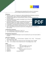 Srivignesh Pojan Java J2EE 4.4 Yrs Exp Avvas Infotech