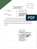 2013 07-31 State of Ohio v Ariel Castro - State's Presentence Investigation Report and Sentencing Memorandum