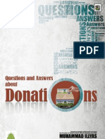 Questions and Answers about Donations.