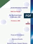 Analyst Briefing Presentation.jan 2006
