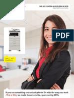 Midshire Business Systems - Sharp MX-M182D / 202D / 232D 8pp Multifunction Mono Printers Brochure