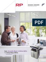 Midshire Business Systems - Sharp - MX-M260 / MX-M310 - Multifunction Mono Printer Brochure