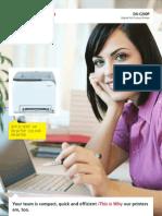 Midshire Business Systems - Sharp DX C200P - Colour Printer Brochure