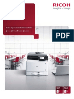 Midshire Business Systems - Ricoh Aficio MP C305SP - A4 Colour Multifunctional Printer Brochure