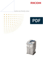 Midshire Business Systems - Ricoh Aficio MP C2051 / MP C2551 - A3 Colour Multifunctional Printer Brochure
