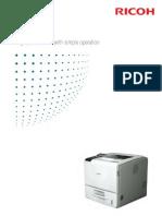 Midshire Business Systems - Ricoh Aficio SP 5200DNSP / 5210DN - A4 Printer Mono Brochure