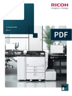Midshire Business Systems - Ricoh Aficio SP 8300DN - A3  Mono Printer Brochure