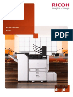 Midshire Business Systems - Ricoh SP C830DN / C831DN - A3 Colour Printer Brochure