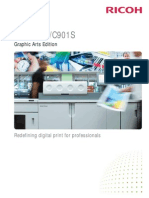 Midshire Business - Ricoh ProC901 - SRA3 Print Production Colour Brochure