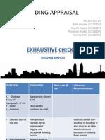 Checklist Building Appraisal