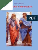 Isocrate, Nicoclès à ses sujets