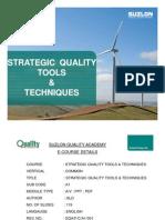 Strategic Quality Tools _ Techniques