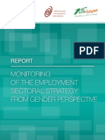 Monitoring of the Employment Strategy