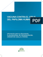 Vacuna HPV Informe Tecnico