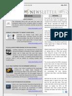 India Transport Portal Newsletter - July, 2013