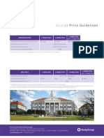 Universities in USA Price List