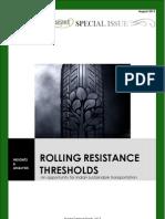 RR Thresholds 2013
