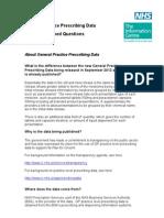 FAQs Practice Level Prescribing