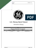 Region Refresh Document 1.0