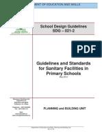 Guidelines SanitaryFacilities
